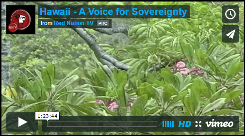 Hawaii - A Voice for Sovereignty