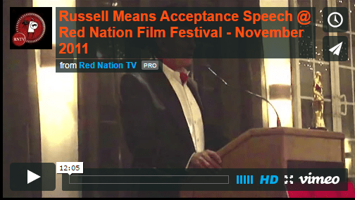 Russell Means Acceptance
