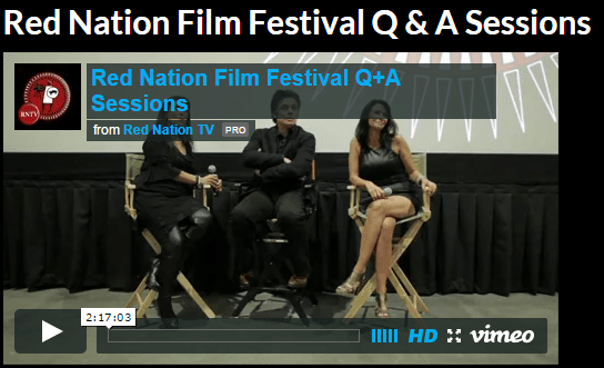 Red Nation Film Festival Q and A