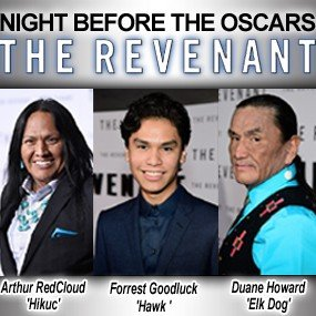 "Native Women in Film & Television NIGHT BEFORE THE OSCARS ""Through the Lens of Indigenous Eyes"""